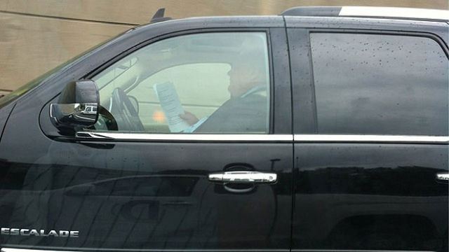 Rob Ford's Escalade Impounded in Bracebridge