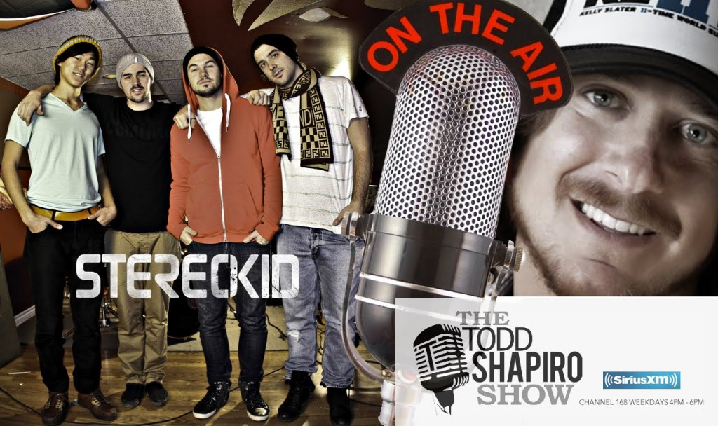 StereoKid interview On The Todd Shaprio Show