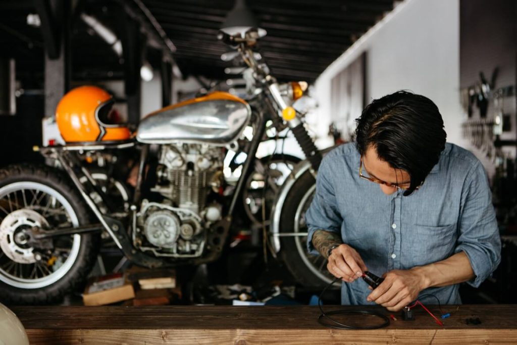 How To Make Your Motorcycle garage Look Like A Million Bucks